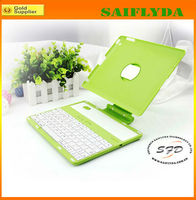 Rotating bluetooth keyboard ABS case Cover For iPad