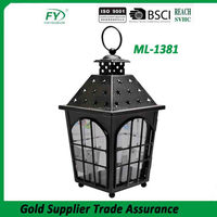 Quality first hot selling chinese new year classical handmade festival decorative metal lantern candle holder