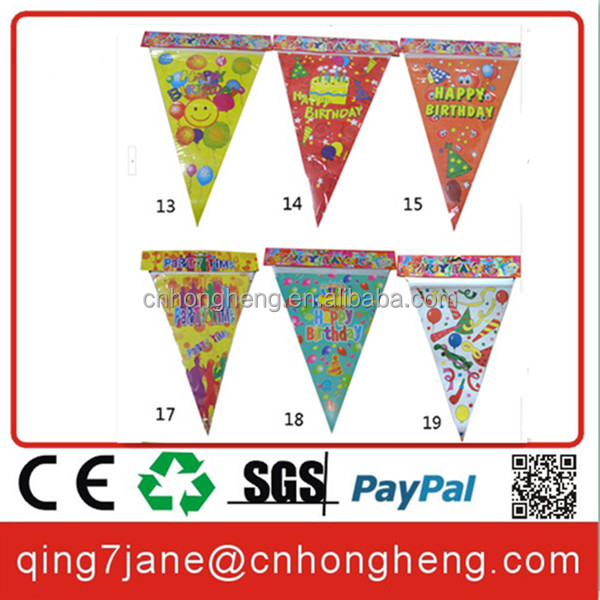 decorative paper flag string bunting flags banners