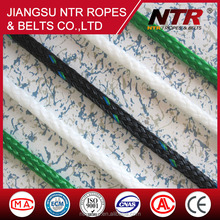 NTR excellent quality hollow braid rope 8 strand polypropylene rope