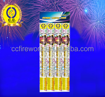 high quality chemical formula roman candle fireworks for sale