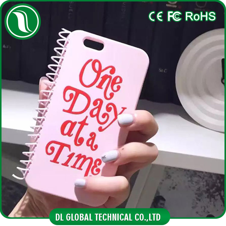 Japan version case de celulares notebook design silicone mobile phones cover for girls for iphone 6 plus case