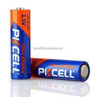 Super Alkaline AA Size LR6 1.5v Primary Dry Batteries PKCELL Brand