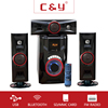 Hot sale ! CY-A25 (3.1) ACDC USB/SD /MP3/FM/RADIO/TV/MP4/Portable DVD SPEAKER