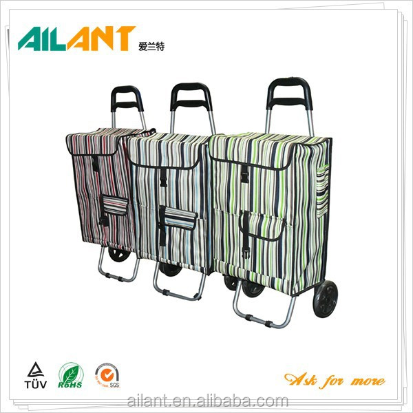 Folding oversized trolley bag