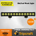 22'' 120w LED work light bar powerful10-30V 120W 10200lumens LED Offroad Light Bar SUV,ATV,4WD led light bar led driving light
