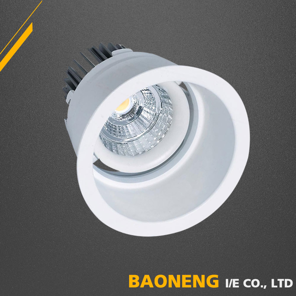 Alumin Die Molding 220 Volt Cool White LED 5W LED Spot light COB With SAA CE RoHS
