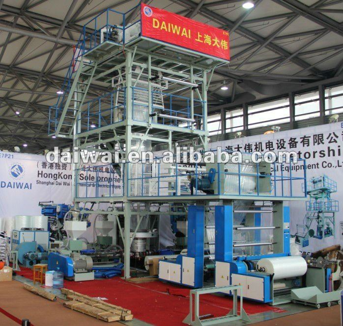plastic sheet extruder machine sale with Double Winder and Corona to produce sheet film