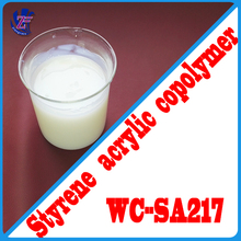 Non-toxic waterproof acrylic emulsion spray paint for fabric coating