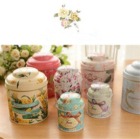 Tin Travel Decorative Scented Aromatherapy Candles with Different Sizes
