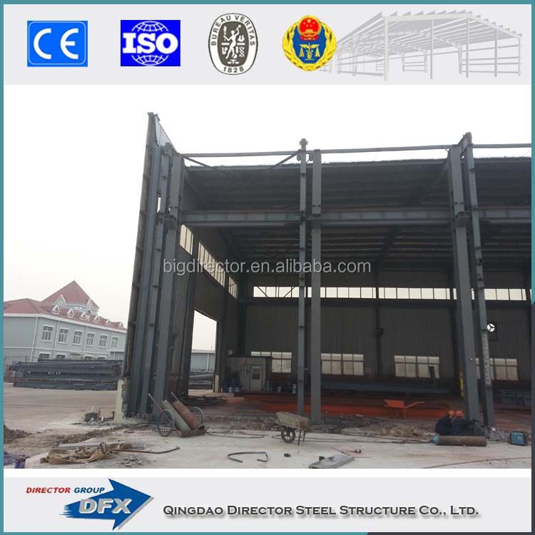 Qualified Low Cost Light Steel Frame Prefab building