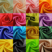 100% polyester charmeuse satin fabric
