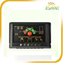 ESSHIN 12V/24V 10A Mppt Pwm solar charge controller for lighting