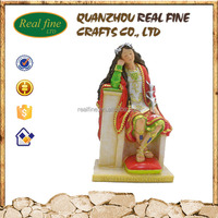 Europe Style Resin Craft Antique Famous Religious Statues