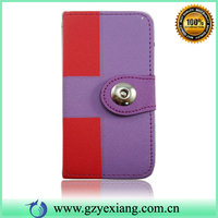 Phone Leather Skin Case Color Change Back Cover For Iphone 5