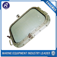 High strength industrial boat aluminum marine ship glass window