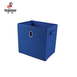New design cube home cloth organizer fabric storage box