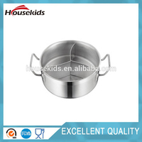 Plastic shallow stock pot set with high quality