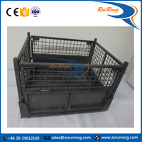 Customized Collapsible Wire Mesh Steel Container
