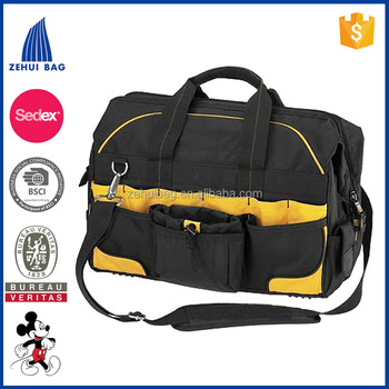 18 inch Pro Contractor's Closed Top Tool Bag