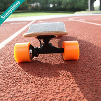 Hot selling sunnytimes new design electric four wheels skateboard BEST PRICE Leading Manufacturer led skate board