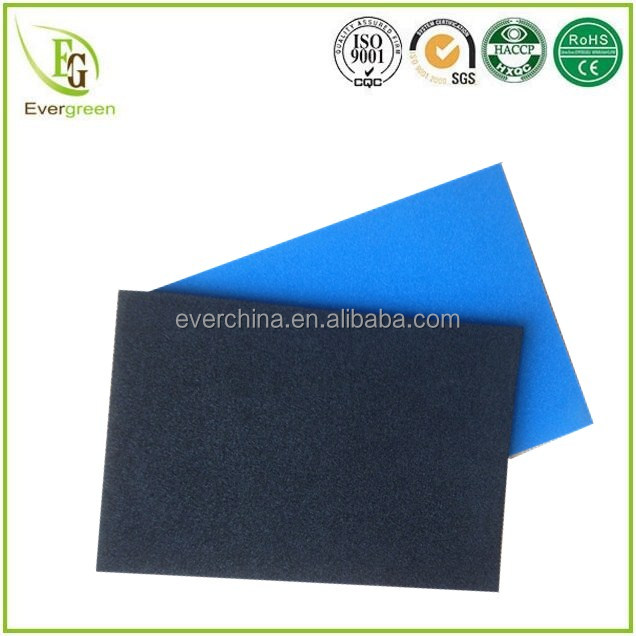 Open cell and closed cell high resilient EVA foam sheet