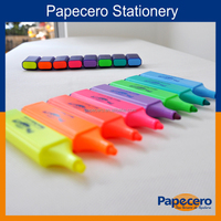 Papecero High Quality Magic Rainbow Multi Color Highlighter Pen