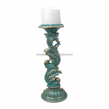 elegant resin candle holder stand