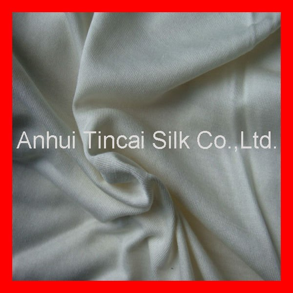 Knitted Silk Single Jersey Fabric