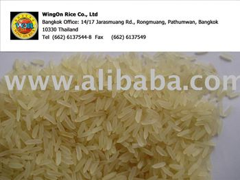 Thai parboiled rice 100% sortexed