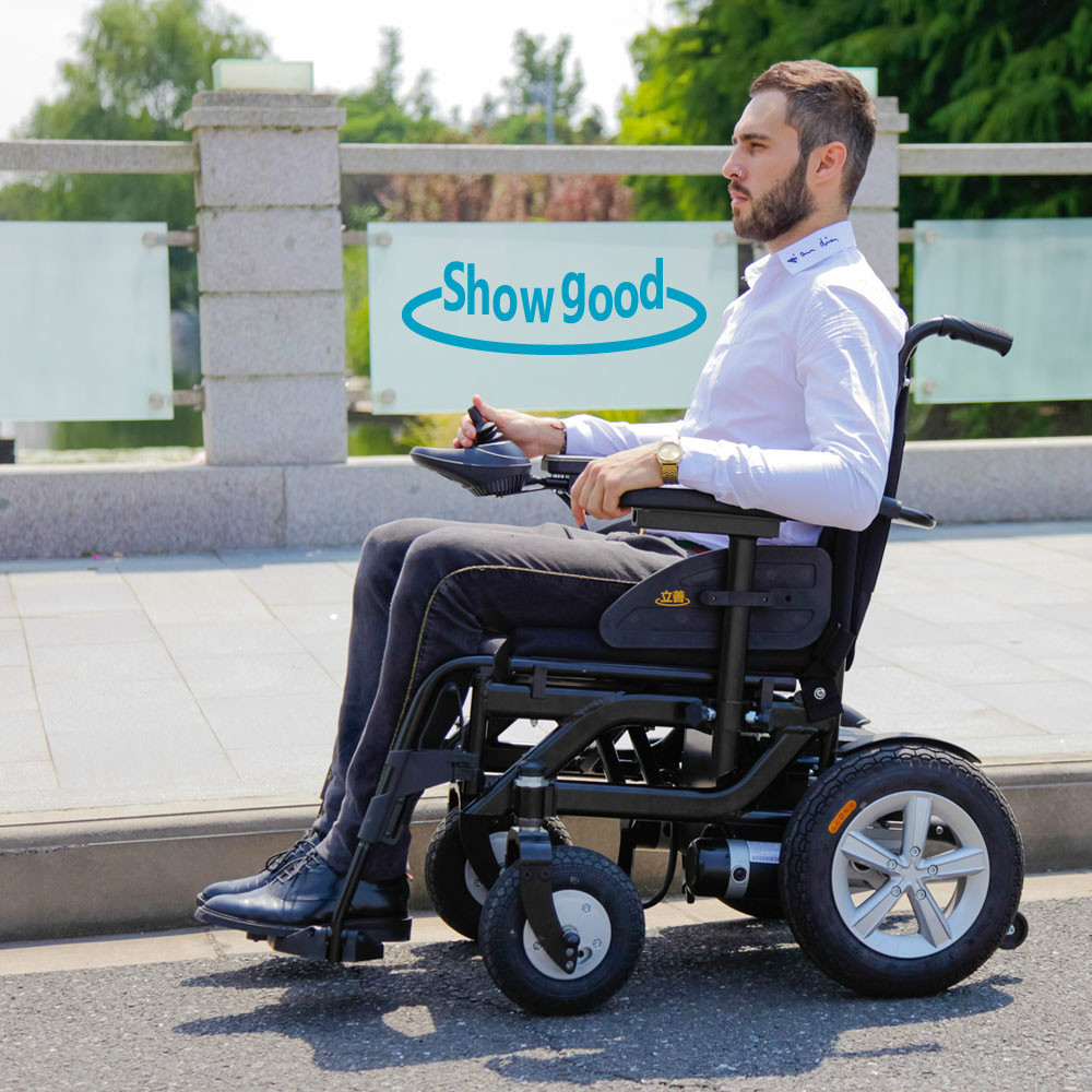 Showgood Comfortable Cheap Outdoor Power Wheelchairs In