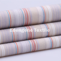 cotton polyester stretch yarn dyed woven fabric