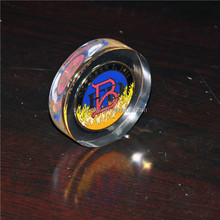 promotional acrylic coin paperweight