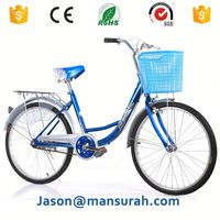 Classic heavy duty ladies bicycles for sale 26inch city bike women bicycle lady bike