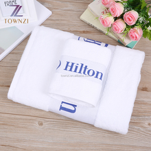 Wholesale Dobby Luxury 5 Star White Terry 100% Turkish Combed Cotton Hotel Bath Towels Beach Towel