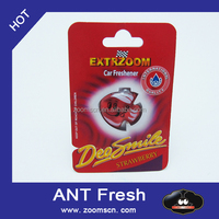 ANT Fresh 3D membrane liquid car air freshener