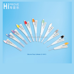 Disposable CE Approved Natural Latex 100% Silicone Foley Catheter