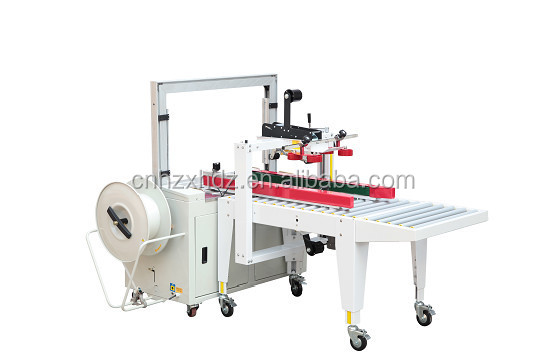 carton sealing machine and Strapping Machine line