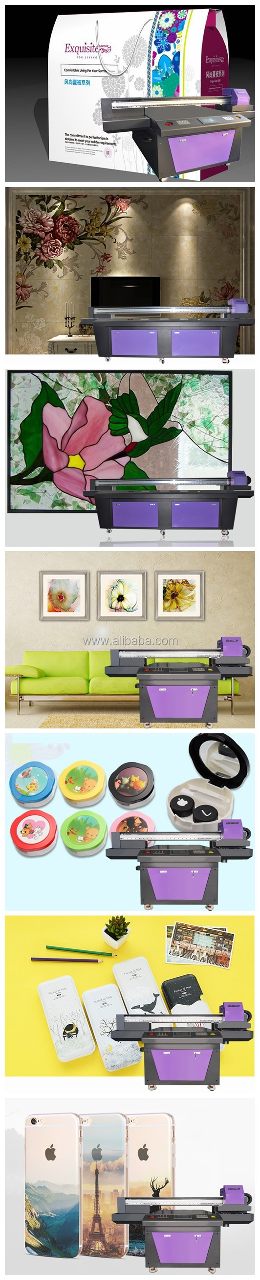 wide format uv lower price flatbed printer machine for acrylic sheets/usb memories/pens/ceramic machine