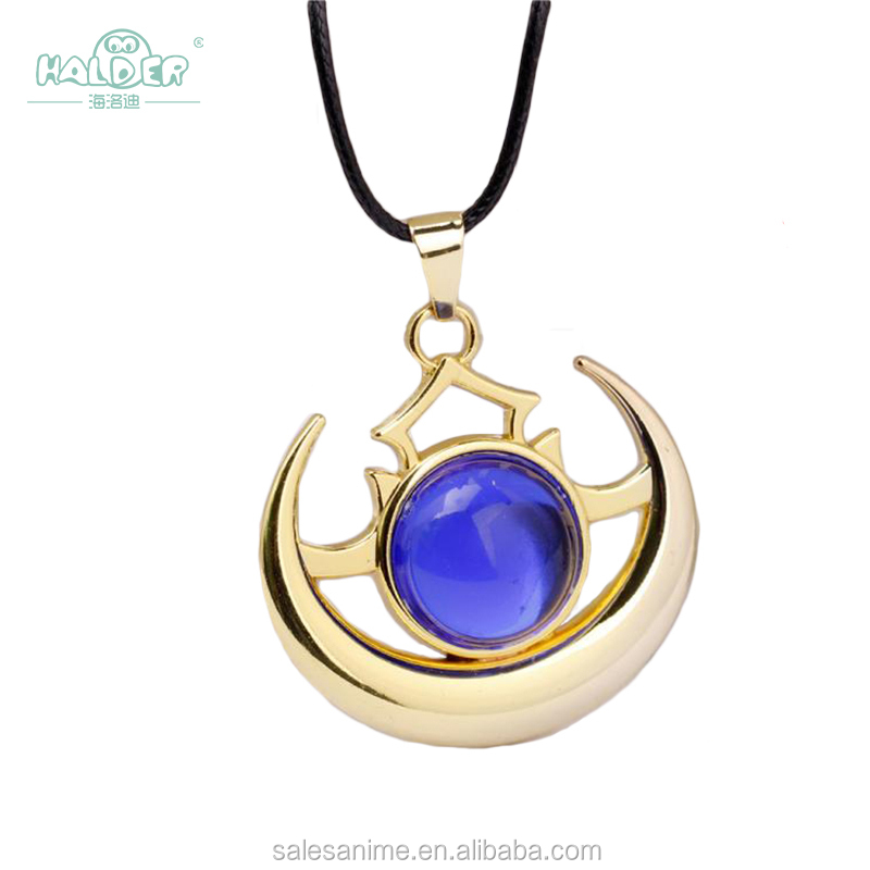2017 wholesale cheap popular gem fashion new gift for women game Do ta2 Shadow Golden alloy jewelry Necklace