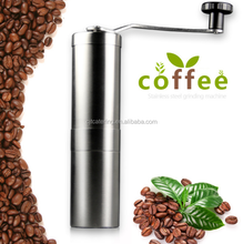 Manual Coffee Grinder | Premium Ceramic Burr coffee grinder | Portable Stainless Steel Coffee Mill
