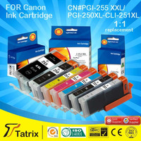 Hot selling ink cartridge for Canon PGI 255/PGI 250/CLI 251 compatible for Canon 5422