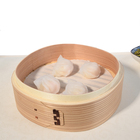 High quality vegetable mini bamboo steamers for sale