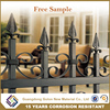 Black powder coated Spear Top decorative garden fencing for garden