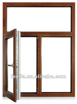 aluminum-wood composite swing windows