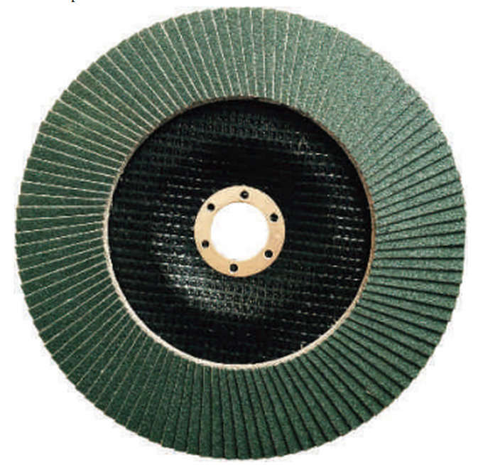 metal polishing and buffing flap disc for ss ,T29 125x22.2mm brown aluminum oxide flap discs
