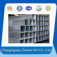 China high quality aluminum square pipe fittings