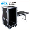 DJ Rack Flight Case With Side Table for hot sale in 2016