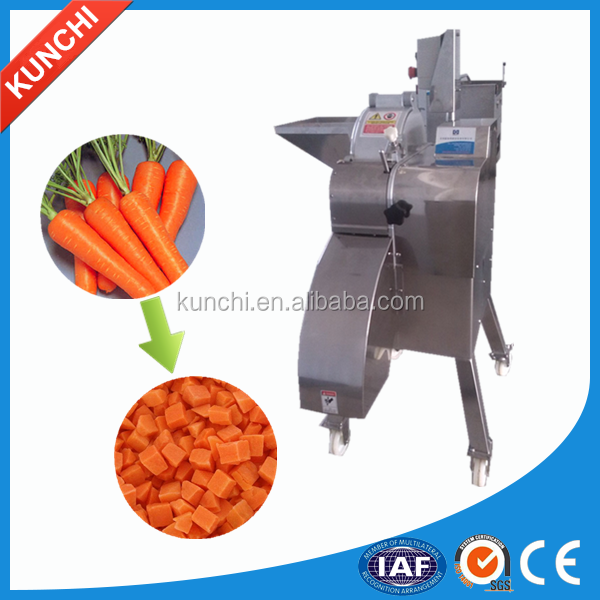 High efficiency commercial vegetable/fruit dicer / onion/potato/turnip dicing machine