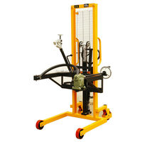 Manual Hydraulic Drum Lift Stacker 400KG Capacity